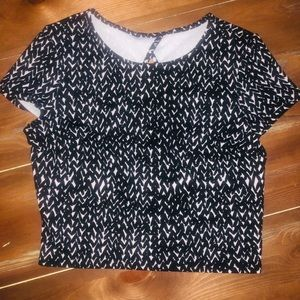 Express Cropped Women's Top Size Small